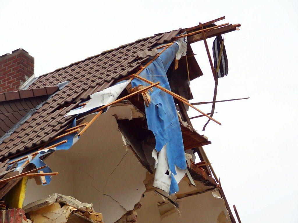 explosion, residence, bomb
