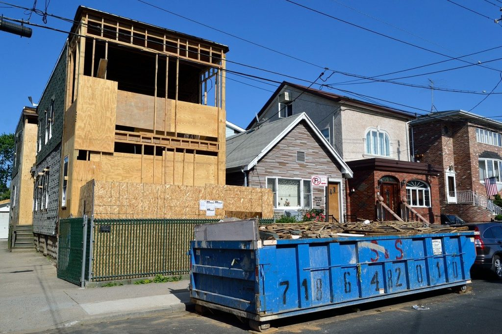house, under construction, construction